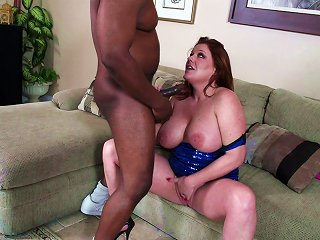 A Black Monster Fuck For The Busty Redhead MILF Kate Faucett
